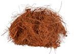 La fibra de coco es un material natural, biodegradable, libre de malas hierbas, hongos y bacterias, extraído de la capa externa del coco con alto contenido de lignina.