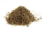 Es un material de origen vegetal y consiste en una mezcla de residuos resultado de la descomposición moderada ocasionada por diversos microorganismos.