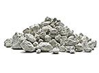 Es un mineral de origen volcánico.