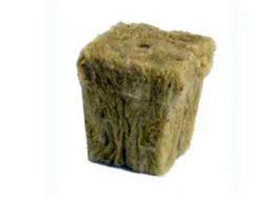 Cubo de lana de roca